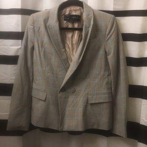 Zara glennplaid blazer. Size M